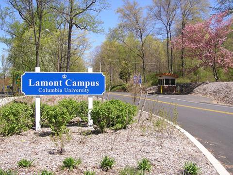 Lamont-Doherty Earth Observatory entrance