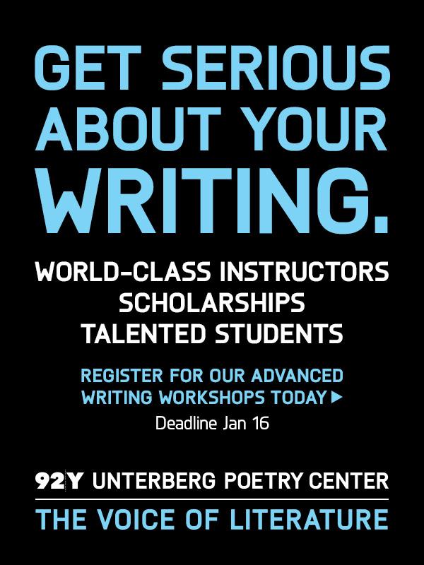 92Y: Advanced Writing Workshops
