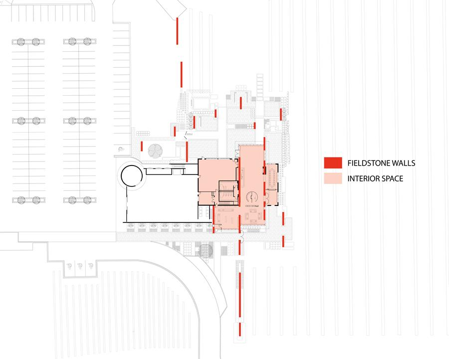 Redstone Winery site plan
