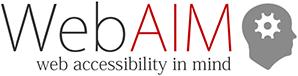 WebAIM Logo.