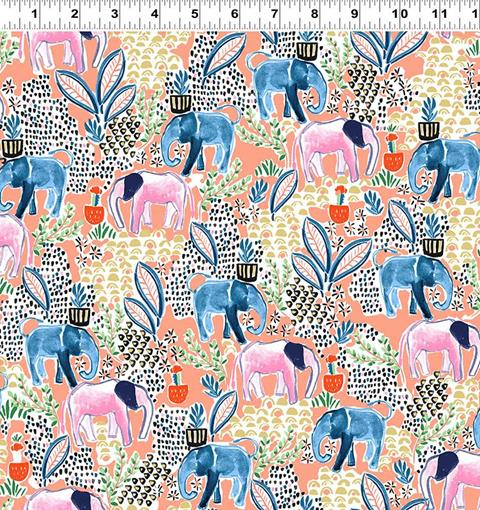 Elephant's Garden at Cary Quilting