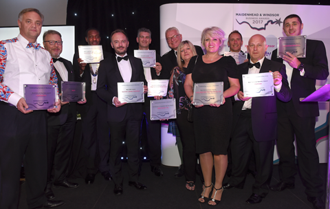 2017 Maidenhead and Windsor Business Awards winners