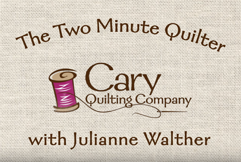 Two Minute Quilter