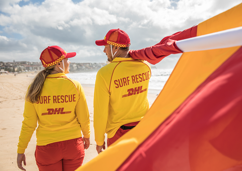 Paddle Boarder Rescued By Lifesavers