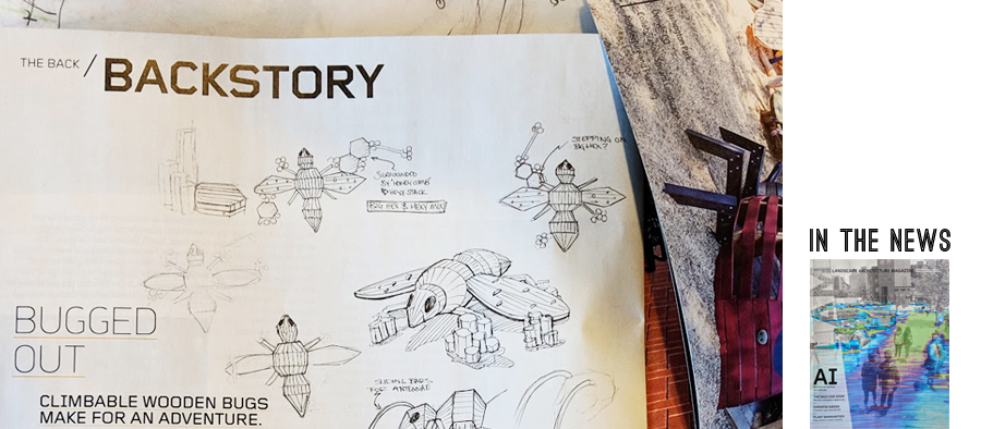 Backstory from ASLA magazine