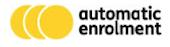 Automatic enrolment logo