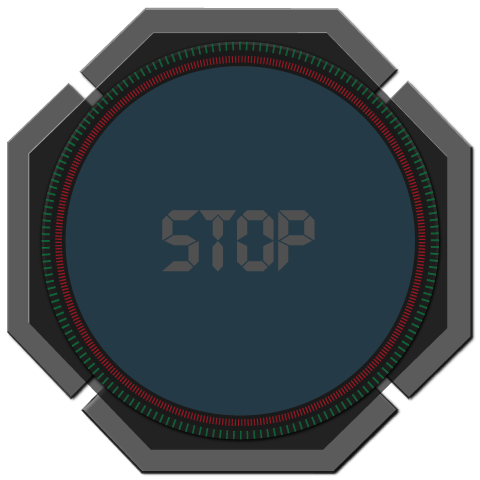 Disabled Stop Button