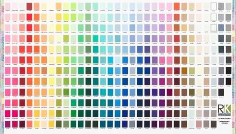 Kona color chart