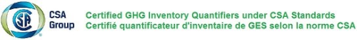 Certified GHG inventory quantifiers under CSA