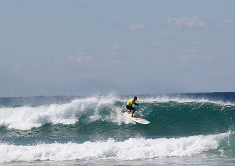 Top Surfing Talent Take On Board Riding Champs