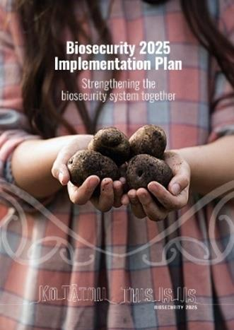 Biosecurity 2025 Implementation Plan cover