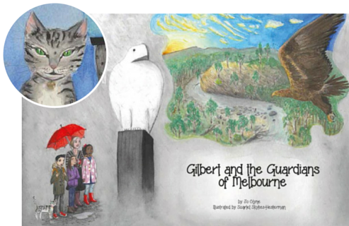 Learn more: Gilbert and the Guardians of Melbourne