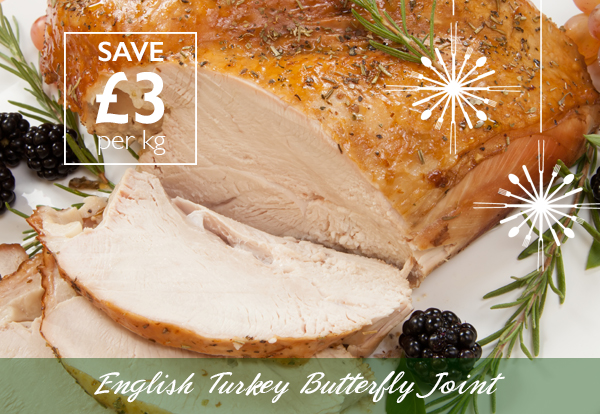 English Turkey Butterfly Joints