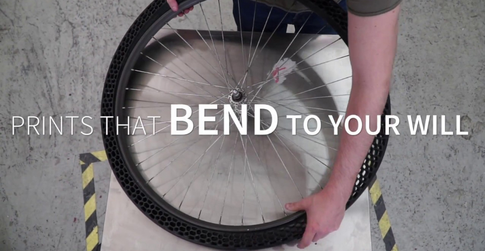 3D Printed bicycle tyres