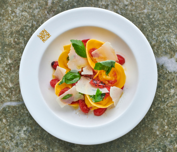 Provola Tortelloni with Datterini & Basil