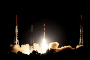 The NovaSAR-1 launching from India. CSIRO