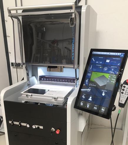 CNC-milling machine TPRC laboratory
