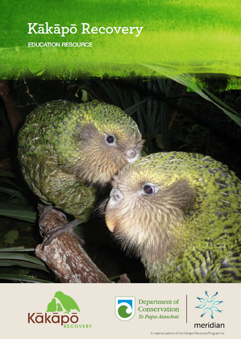 Kākāpō Recovery education resource