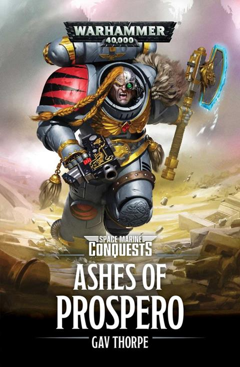 Cover of Ashes of Prospero by Gav Thorpe