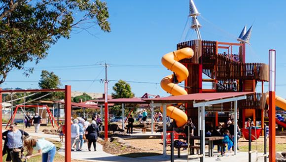 Community Bank® Adventure Playground in Wallan