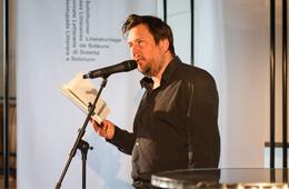 Matto Kämpf liest in Solothurn 2016, ©Simon Kneubühl