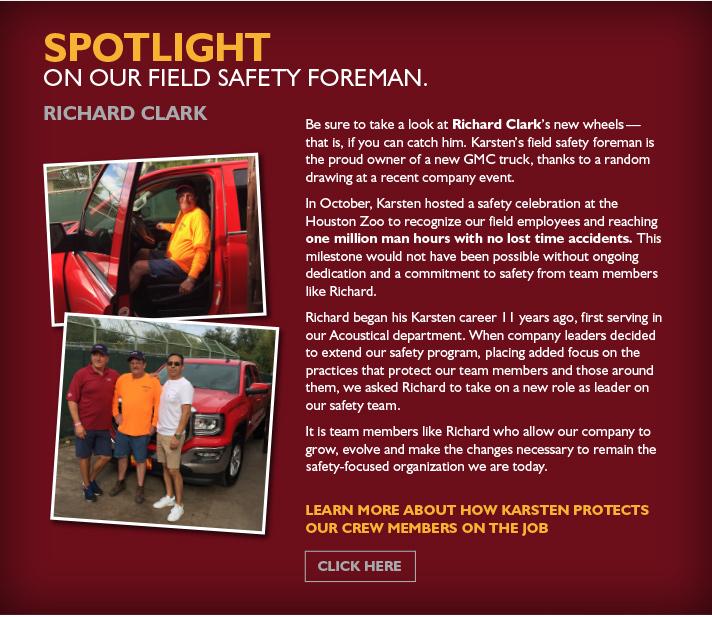 Richard Clark | Field Safety Foreman