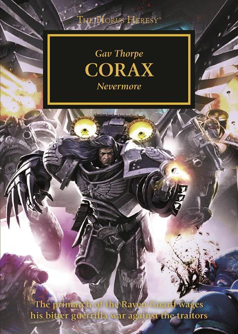 Cover of Corax by Gav Thorpe