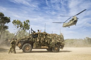 Protected mobility is one of the priorities spelt out by BRIG Mills. Defence