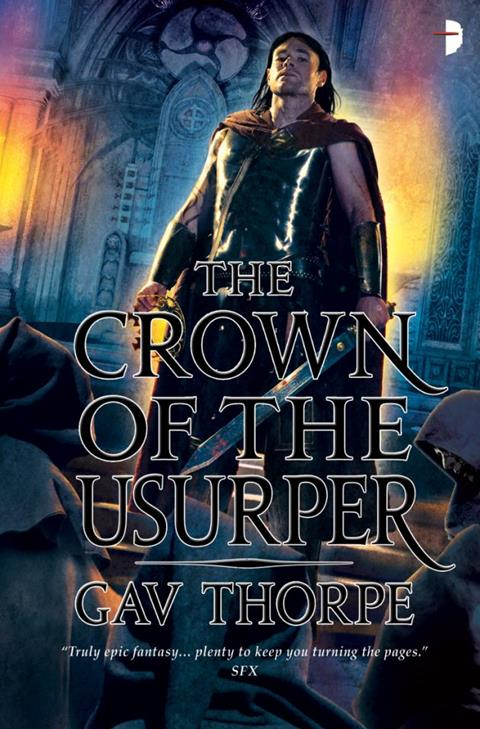 Cover of The Crown of the Usurper by Gav Thorpe