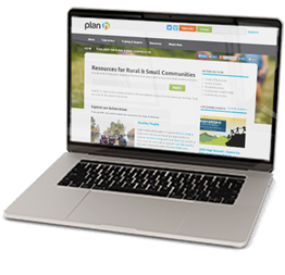 Image of Rural Resources web page