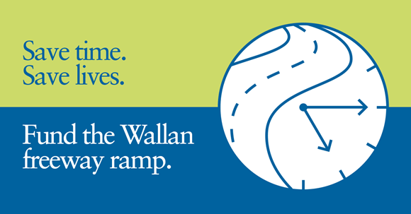 Save time, save lives. Fund the Wallan freeway ramp
