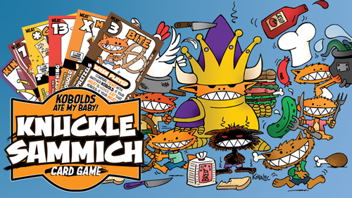 Knuckle Sammich Gard Game Image