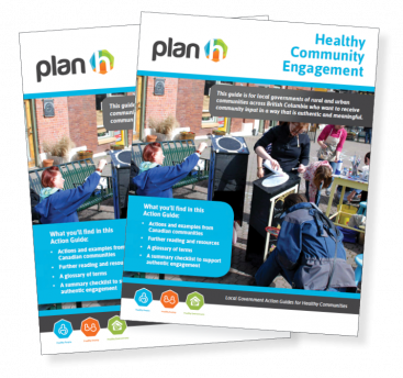 The cover of the PlanH Healthy Community Engagement Action Guide