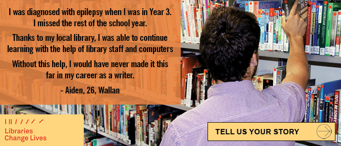Story about Aiden and how libraries changed his life. Tell us your story