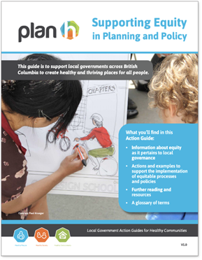 Image of the cover of the PlanH Equity Action Guide