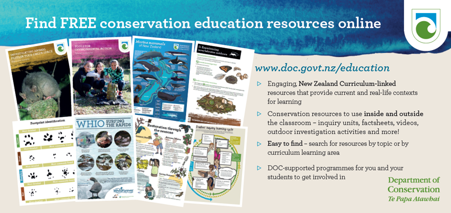 Free conservation education resources online
