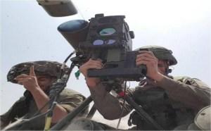 IDF troops fire a Rafael Spike anti-tank missile. Credit: Rafael