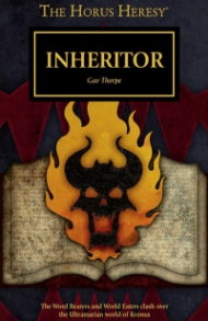 Cover of Inheritor by Gav Thorpe, published by Black Library