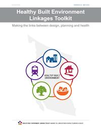 Cover of the Healthy Built Environment Linkages Toolkit