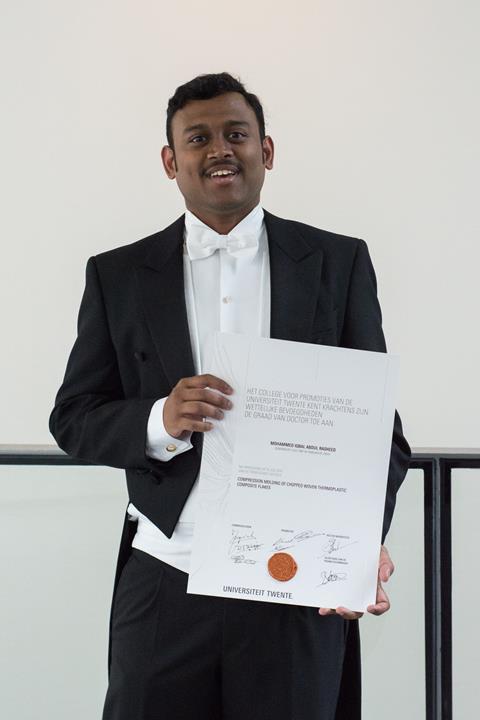 PhD title for Iqbal Rasheed