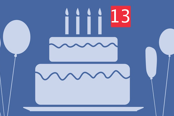 HAPPY 13TH BIRTHDAY FACEBOOK! LET'S LOOK BACK ON THE LOWLIGHTS!