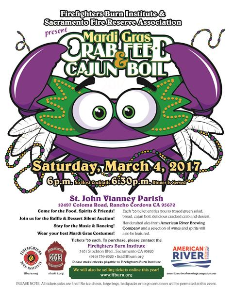 2017 Crab Feed & Cajun Boil Fundraiser