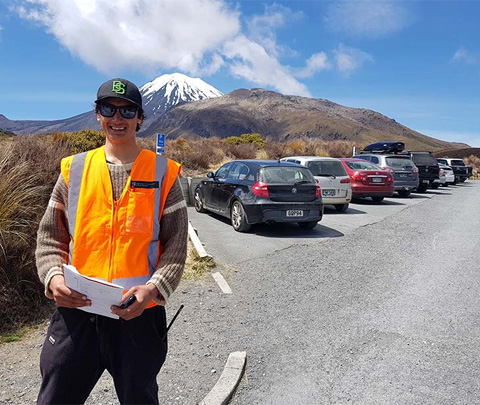 Whaiora Raharuhi, DOC traffic management