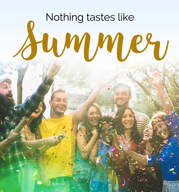 Nothing tastes like summer