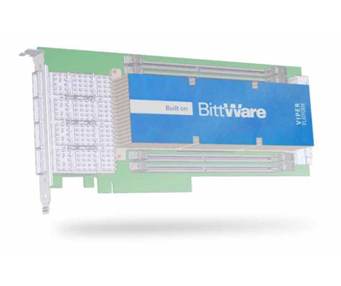 Intel Arria 10 GX Low Profile PCIe Board on Spider Platform