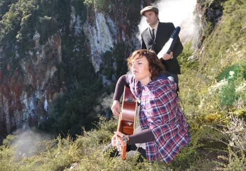 Music duo Rosy Tin Teacaddy