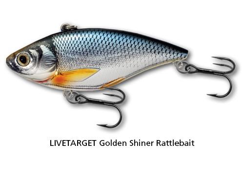 LIVETARGET Golden Shiner Rattlebait