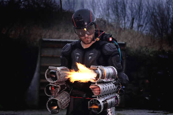 MANKIND IS ONE STEP CLOSER TO THE REAL LIFE IRON MAN SUIT