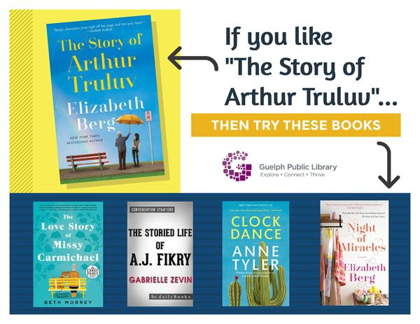 "If you like ""The Story of Arthur Truluv"", then try some new heartwarming eReads from Cloud Library!"