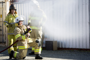 Aviation firefighters tested by Airservices are reported to have up to 20 times the normal level of PFAS in their blood.